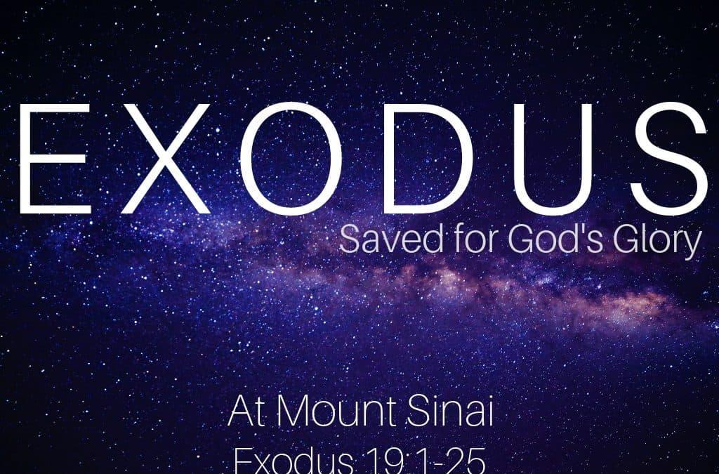 Exodus: At Mount Sinai