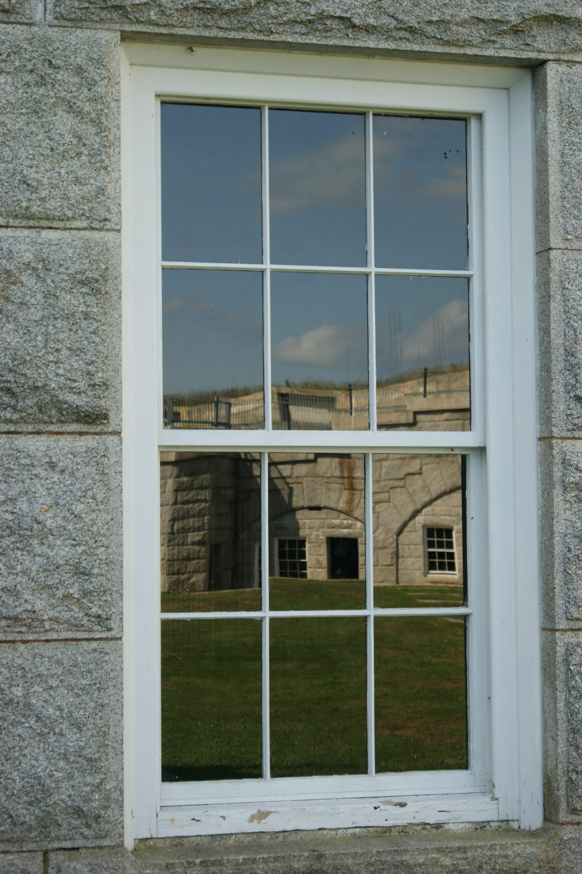 Reflection of Fort Knox, Maine