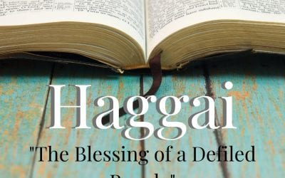 Haggai: The Blessing Of A Defiled People
