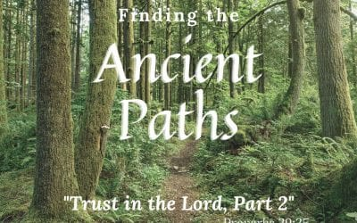 Trust In The Lord: Part 2